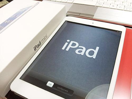 iPad miniセットアップ開始