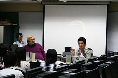 teamLab猪子氏スペシャル講義 in DENBI