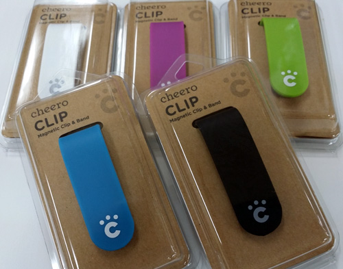 Cheero CLIP5色セット