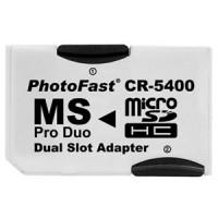 SDHC microSD デュアルアダプタPSP対応