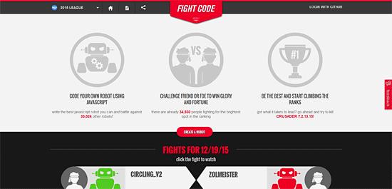 Fight Codeトップページ