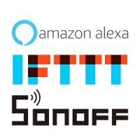 Alexa IFTTT SONOFF